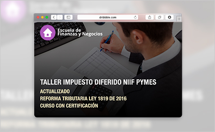 Virtual - Taller impuesto diferido NIIF Pymes