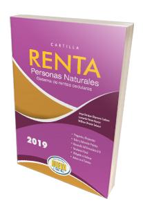 Libro - Cartilla Renta Personas Naturales 2019 Sistema de Renta Cedulares - Grupo editorial Nueva Legislación