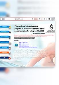 Herramientainteractiva - Plantilla para preparar la declaración de renta persona natural año gravable 2018 por el sistema cedular