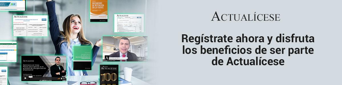 Registro Actualícese
