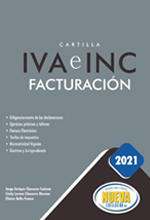 Cartilla IVA e INC facturación 2021
