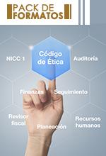 Pack de formatos: Para la implementación de control de calidad y ética en la ejecución de encargos de auditoría.