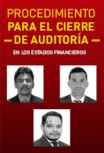 Procedimiento para el cierre de auditoría en los estados financieros