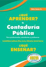 ¿Qué aprender? en Contaduría Pública ¿Qué Enseñar?