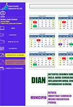Calendario tributario automatizado AG 2021 – Norbey Lasso