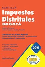 Cartilla impuestos distritales Bogotá 2021 – Grupo Editorial Nueva Legislación