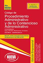 Código de Procedimiento Administrativo y de lo Contencioso Administrativo 2021 – Grupo Editorial Nueva Legislación