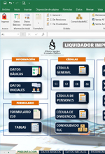Excel para elaboración de declaraciones de renta de personas naturales AG 2020 – Alberto Sánchez