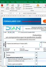 Excel para la declaración de renta de personas naturales obligadas y no a llevar contabilidad AG 2019 – Versión 3.0 – Alberto Sánchez