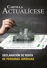 Cartilla Declaración de Renta personas Jurídicas año gravable 2019