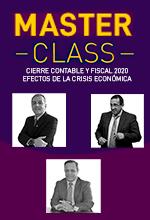 Master Class: Cierre contable y fiscal 2020 – efectos de la crisis económica