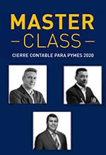 Transmisión en vivo: Master class: Cierre contable para Pymes 2020