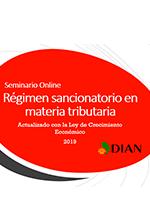 Régimen sancionatorio en materia tributaria – Escuela de finanzas y negocios