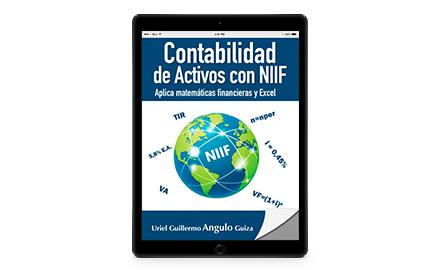 Contabilidad de activos con NIIF. Aplica matemáticas financieras y excel-Ediciones de la U