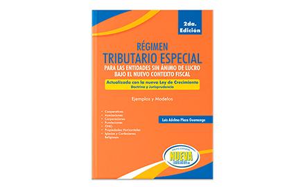 Libro impreso Régimen Tributario Especial 2020