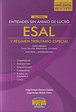 Entidades sin Ánimo de Lucro ESAL Y Régimen Tributario Especial  2018. 3 Edición