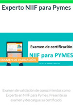 Curso en líneaCertificación de Escuela de Finanzas y Negocios Experto NIIF para pymes