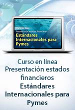 [Curso en Línea] Presentación estados financieros Estándares Internacionales para Pymes – Escuela de Finanzas y Negocios