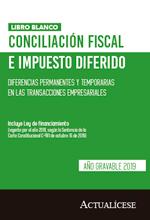 Libro blanco de conciliación fiscal e impuesto diferido 2019