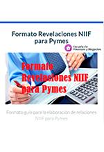 Formato revelaciones NIIF para PYMES  Escuela de Finanzas y Negocios