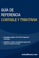 Guía de Referencia Contable y Tributaria 2016