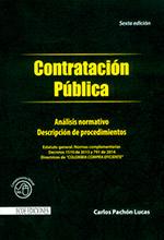 Contratación pública – Análisis normativo, descripción y procedimientos
