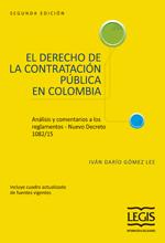[Libro] El Derecho De La Contratación Pública En Colombia – Análisis y Comentarios a los Reglamentos 2a Edición – Legis