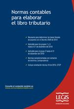 [Libro] Normas Contables para Elaborar el Libro Tributario 1ª Edición – Legis