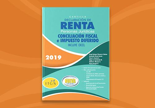 Declaración de renta de personas jurídicas y conciliación fiscal año gravable 2018