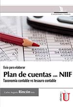 Libro Guía para elaborar Plan de Cuentas con NIIF. Taxonomía contable vs tesauro contable  Ediciones de la U