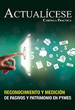 Cartilla Práctica Impresa Reconocimiento y medición de pasivos y patrimonio en pymes