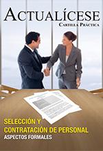Selección y contratación de personal – Aspectos formales