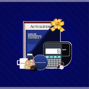 Kit ORO para contadores: lo que quieres y lo que necesitas en un solo paquete de beneficios Incluye el libro Estados Financieros Comparativos y la Guía de Referencia Contable y Tributaria
