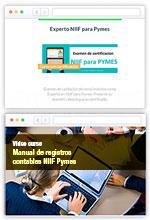 COMBO Curso en línea Manual Registros Contables NIIF + Certificación Experto NIIF – Escuela de Finanzas y Negocios