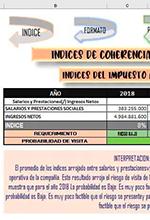Índices de coherencia tributaria para la declaración de renta de personas jurídicas