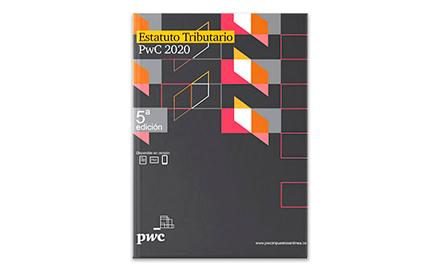 Libro impreso Estatuto Tributario PwC 2020