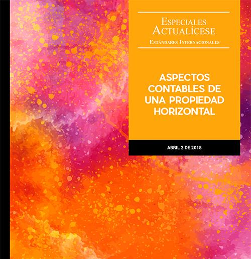 Especial estándares internacionales: Aspectos contables de una propiedad horizontal