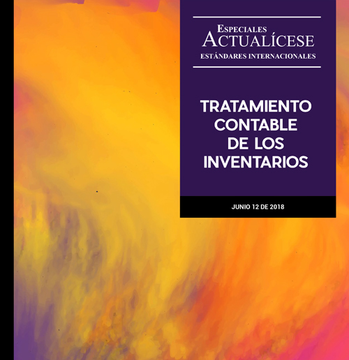 Especial estándares internacionales: Tratamiento contable de los inventarios
