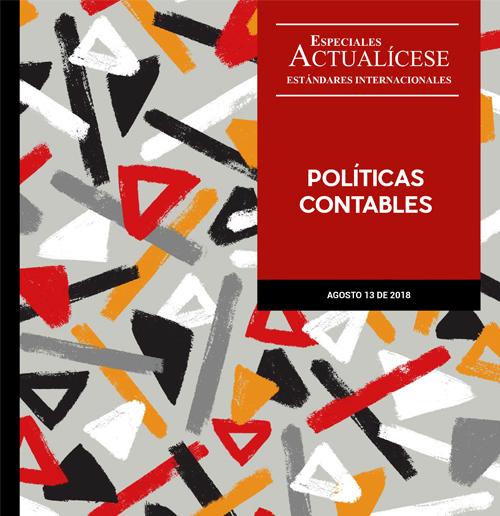 Especial estándares internacionales: Políticas contables
