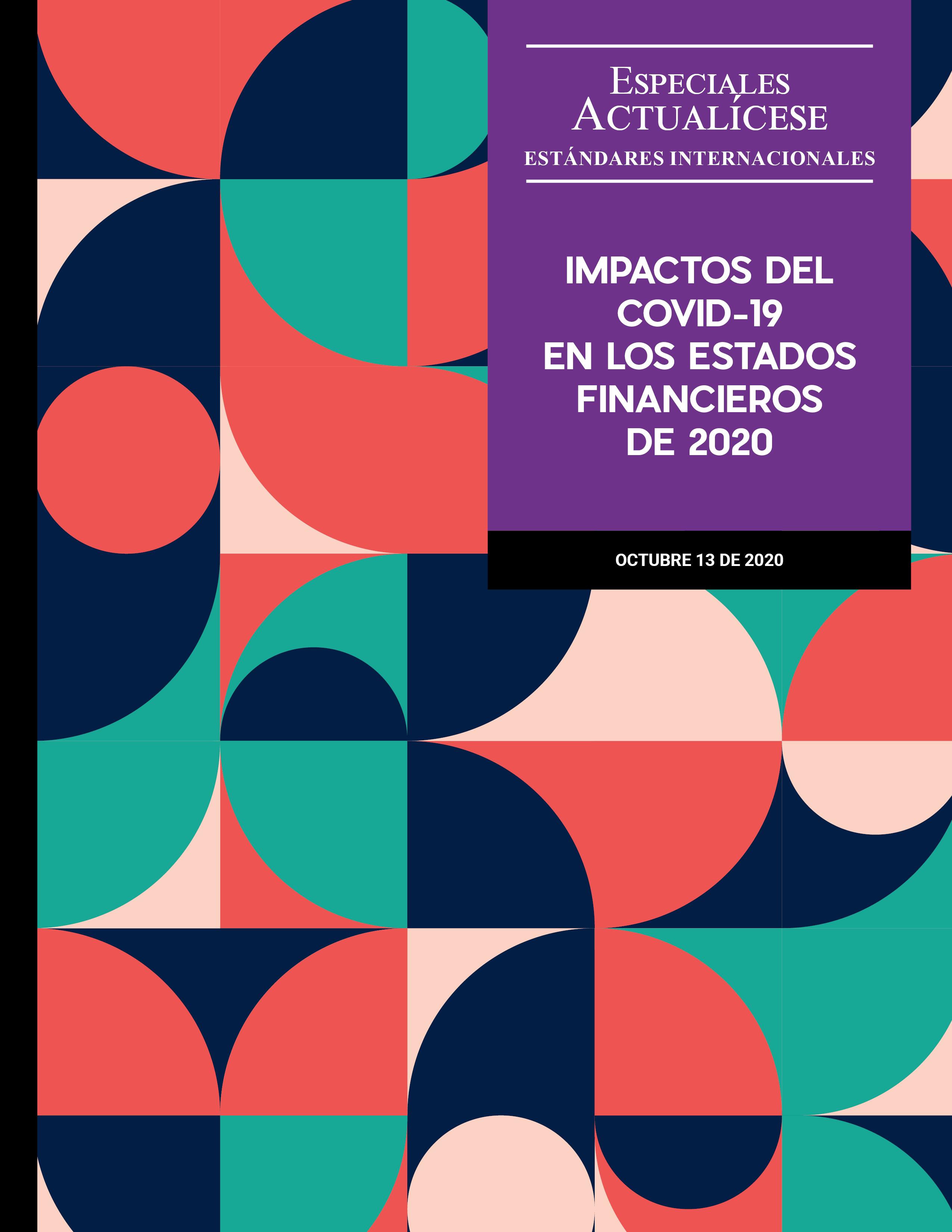 Impactos del COVID-19 en los estados financieros de 2020