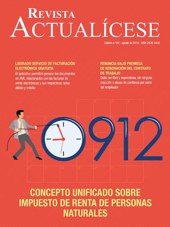 Revista Actualícese agosto del 2018