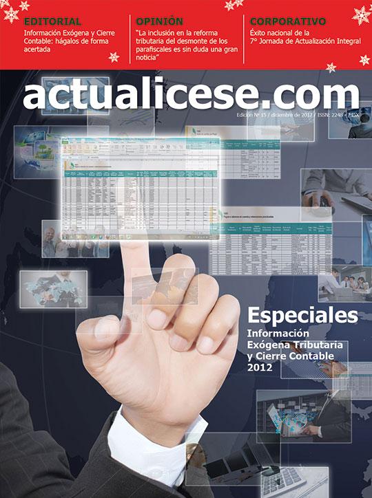 Revista actualicese.com de Diciembre 2012
