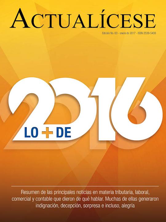 Revista Actualícese enero del 2017