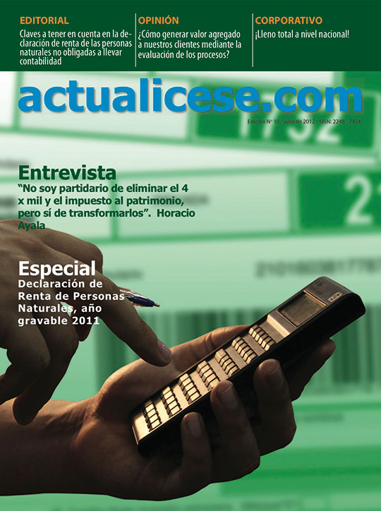 Revista actualicese.com de Julio 2012