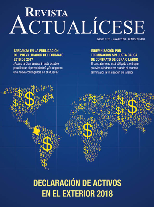 Revista Actualícese julio del 2018