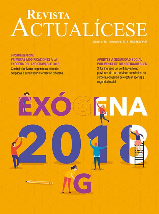Revista Actualícese noviembre del 2018