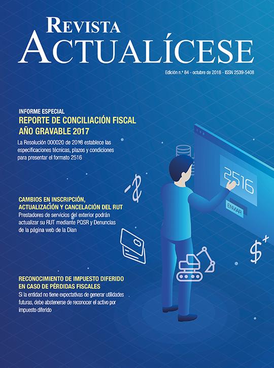 Revista Actualícese octubre del 2018