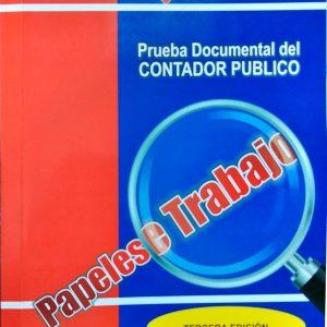 Prueba documental del contador público (papeles de trabajo) - 3ra Edición